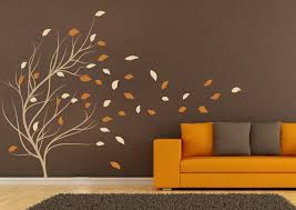 Stick On Wall Wall Stickers For Bedrooms Decal Windy Tree Decals For Walls