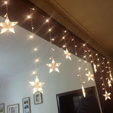 Decorative String Lights Indoor Star