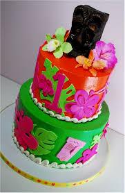 Tropical Themed Cake - cup a dee cakes blog hawaiian luau birthday cake