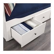 ikea hemnes letto hemnes letto divano 3 cassetti 2 materassi bianco moshult rigido