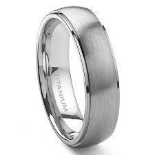 mens wedding bands titanium londo titanium 6mm satin finish wedding band ring