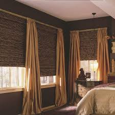 Bamboo Curtains For Windows Blackout Bamboo Shades U0026 Natural Shades Shades The Home Depot