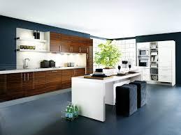 kitchen brown wood kitchen cabinet white granite flooring white