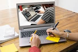 Desk Laptop Laptop Computer Office Free Photo On Pixabay