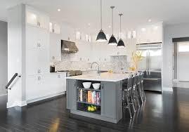 white kitchen cabinets grey island contemporary kitchen white with grey island laurysen