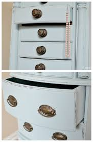 valspar blue paint colors jewelry armoire makeover with valspar chalky finish paint u create
