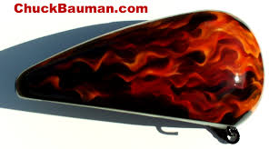 realistic flames airbrush art real fire paint jobs