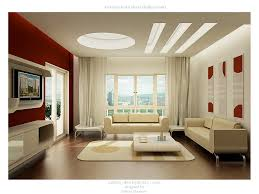 Red And White Living Rooms - Design for living rooms