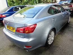 lexus auto trader uk used lexus is 250 saloon 2 5 se 4dr in stockport cheshire