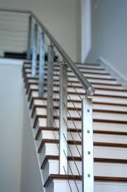 metal stair handrail kits steel stair handrail design dark brown