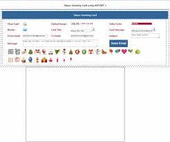 asp net web greeting card tool codeproject