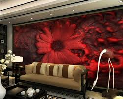 popular 3d wallpaper bedroom red buy cheap 3d wallpaper bedroom