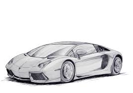 lamborghini front drawing aventador cruiser by evov1 on deviantart