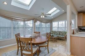 Dining Room Ceiling Fan by Traditional Dining Room With Carpet U0026 High Ceiling In Basking