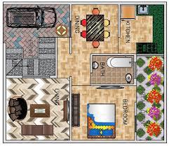 floor plan for bedroom 3 bhk floor plan for 26 x 30 feet plot 780 square feet