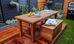 Bunnings Bar Table D I Y Outdoor Table With Built In Drinks Cooler Bunnings Warehouse