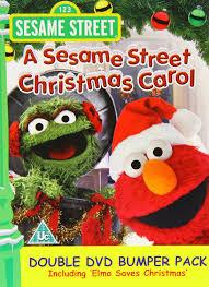 sesame street christmas carol elmo saves christmas double amazon