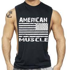Kenya Flag Clothing 2018 American Flag Design Bodybuilding Fitness Men Tank Top Golds
