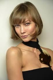 medium bob hairstyle front and back model karlie kloss cried over bob haircut hairstyle british vogue