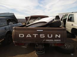 datsun pickup junkyard find 1980 datsun 720 king cab 4wd pickup the truth