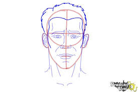 how to draw faces step by step drawingnow