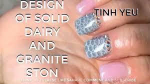 nail technician alex nail art design tinh yeu how to design of