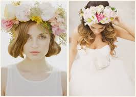 flowers for hair crowns of flowers for your hair strictly weddings