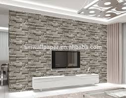 wallpapers for home interiors home interior design wall decoration 3d bricks wall paper adhesive