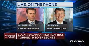 nissan finance wells fargo sloan disappointed hearings turned into speeches
