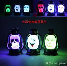 2018 halloween light led lantern novelties symphony pumpkin small