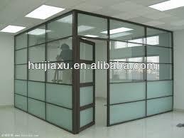 cloison aluminium bureau separation de bureau en verre tts wall vitrages isolants phoniques