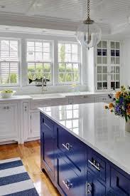 blue kitchen islands 30 gorgeous blue kitchen decor ideas digsdigs