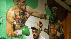 mayweather house conor mcgregor has floyd mayweather painting photo si com