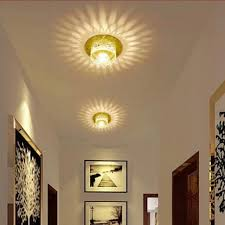 Hallway Lights Aliexpress Com Buy Colorpai 3w Led Crystal Lamps Lustres De