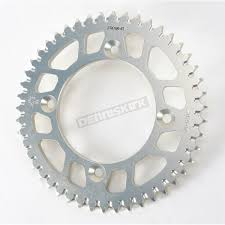 jt sprockets 47 tooth rear aluminum sprocket jta798 47 dirt bike