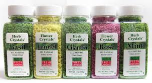 all natural flower food herb flower crystals fresh origins microgreens