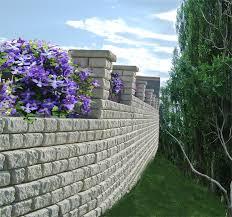Garden Boundary Ideas by Retaining Wall Fences 5star Fences