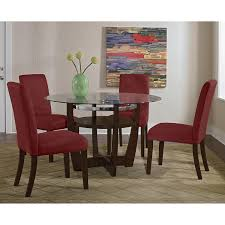 Red Dining Room Sets Daly Red Dining Room Chair Standard Furniture Dining Room Chair