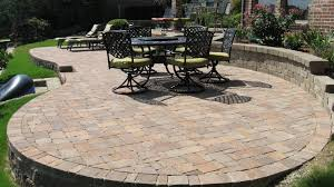 Laying Pavers For Patio Paver Patio Plus Putting In A Patio With Pavers Plus Gray Concrete