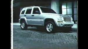 crashed jeep liberty jeep liberty commercial 2001 youtube