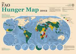 West Asia Map by Hunger Map 2012 Indexmundi Blog