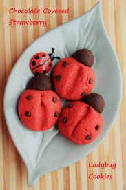 ladybug cookies chocolate covered strawberry ladybug cookies the archaeologist bakes