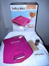 baby cakes maker babycakes waffle maker ebay