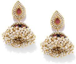 jhumki earring flipkart buy fida indian festive polki traditional metal