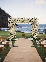 wedding ceremony decoration ideas 19 charming and coastal wedding arch ideas for 2018