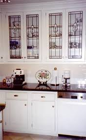 The  Best Images About Glass Doors On Pinterest Glasses - Leaded glass kitchen cabinets