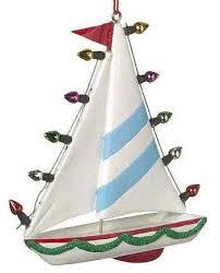 sailboat u0026 moon christmas ornament u2013 fun christmas ornaments