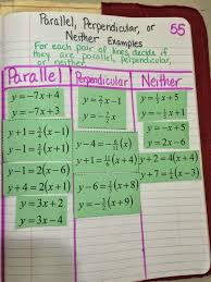 mrs atwood s math class parallel and perpendicular lines