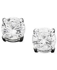 zirconia earrings cubic zirconia earrings shop cubic zirconia earrings macy s
