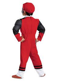 Ninja Halloween Costumes Toddlers Red Ranger Ninja Steel Toddler Muscle Costume Boys